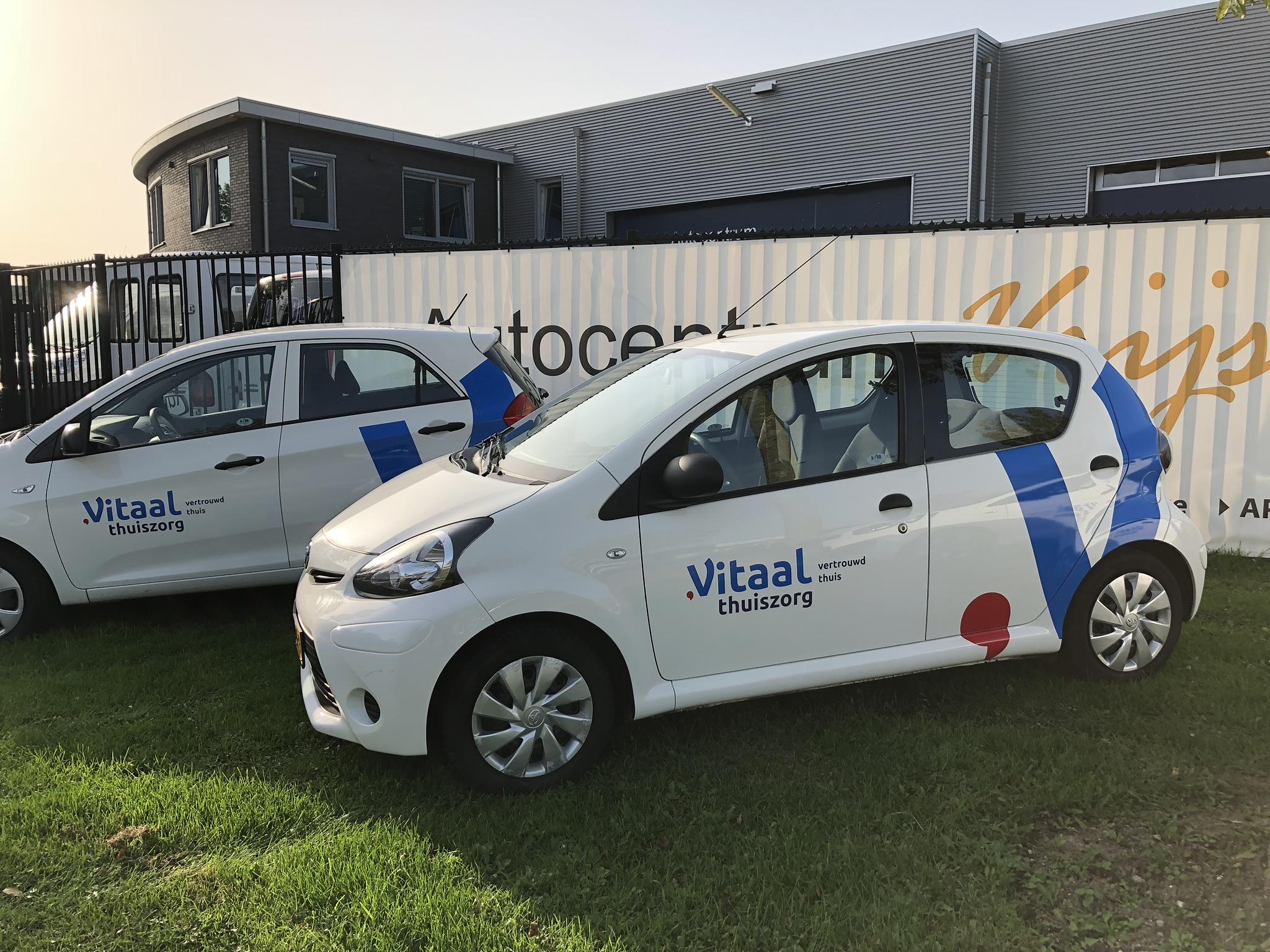 Nieuw logo Vitaal thuiszorg vindt zijn weg.