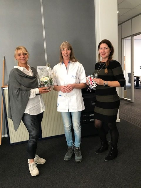 Chantal Nijland-Van Lancker 35 jaar in dienst bij TGVS