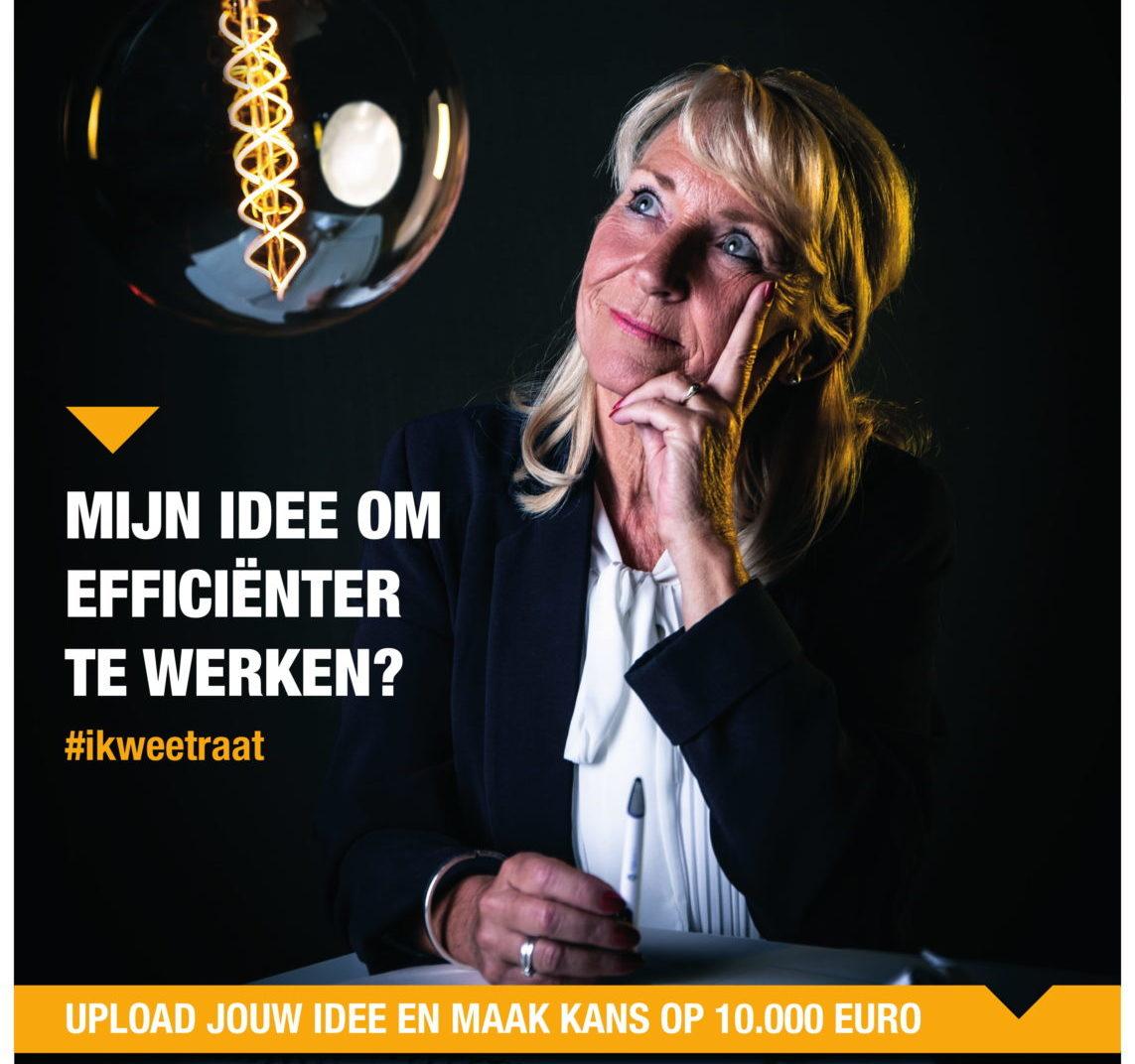 Upload jouw idee voor meer werkplezier op IkweetRAAT.nl