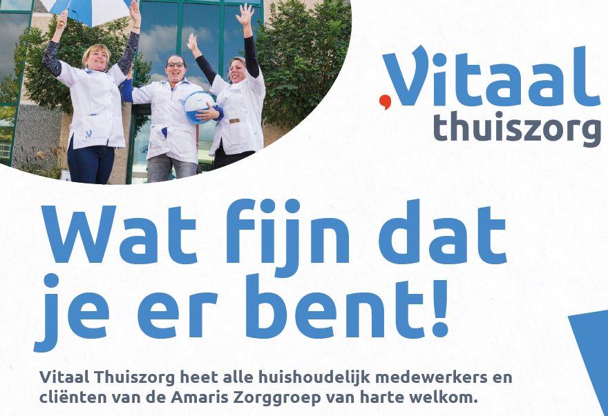Overname huishoudelijke zorg Gooi en Vechtstreek.